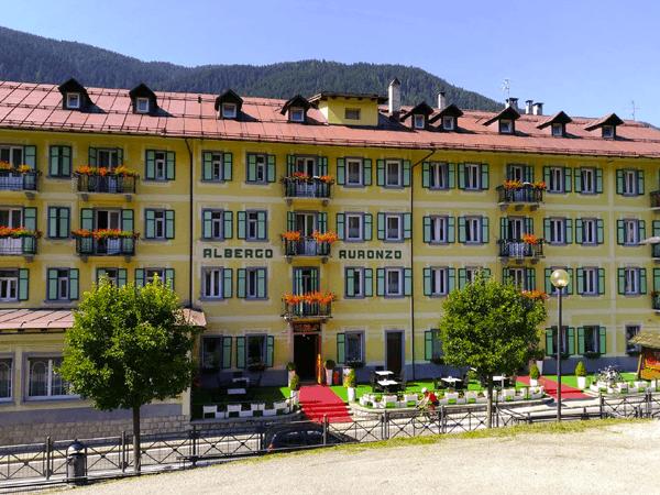 Hotel Auronzo esterno