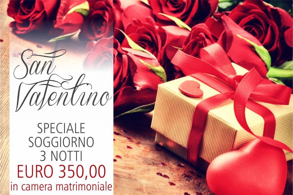 Pacchetto San Valentino… 3 notti ad € 350,00