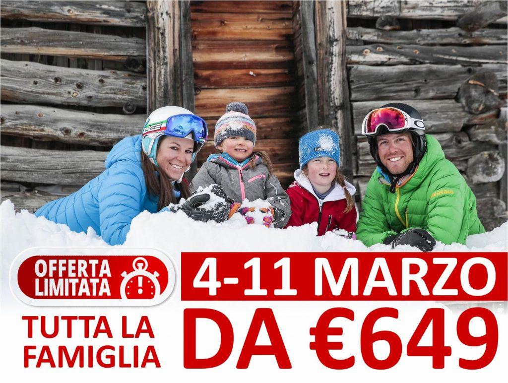 LA FAMIGLIA in vacanza DA € 649