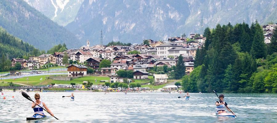 Gara Nazionale di Canoe sul Lago di Auronzo 2-3 Giugno 2018